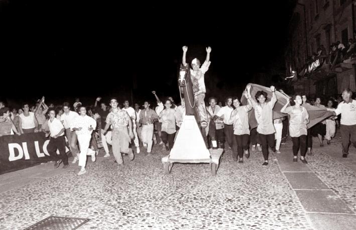 1987 Fine gara la gioia del Colle Eghezzone