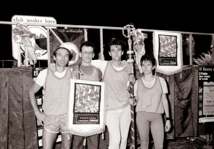 La staffetta vincitrice,1989