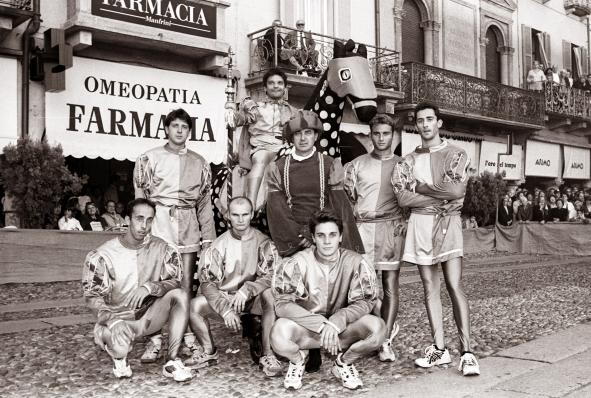 Lodi; Palio la cursa dei Cavai, La vincita del baston da parte del Borgo 1995